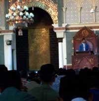 Khotbah Adhyaksa Dault di Aceh