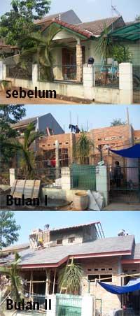 Progres Renovasi Rumah E-245