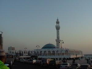 Masjid Terapung, Laut Merah