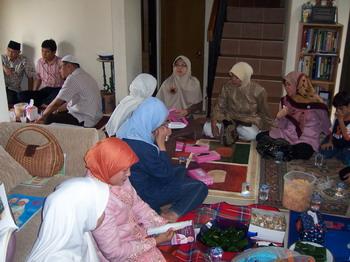 Pertemuan Kelompok Haji di Baiti Jannati