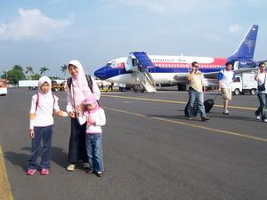 Naik Sriwijaya Air ke Semarang