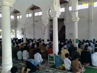 Sholat Jumat di Masjid Sabang, Lamno