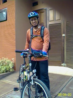 Ready to bike to work
