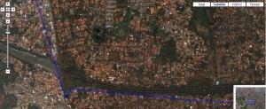 Google Map di Firefox 3