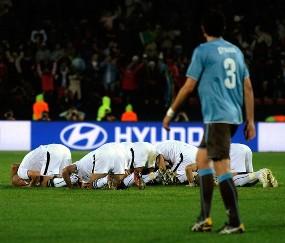Foto ini milik AFP
